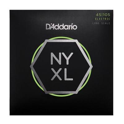 D'Addario NYXL Bass Guitar Strings 45-105 long scale