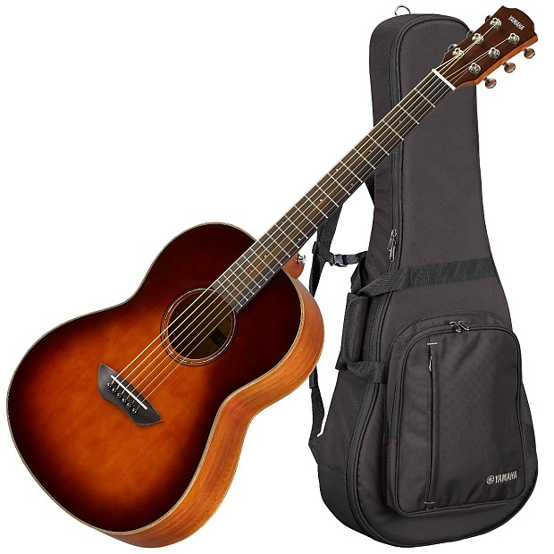 Yamaha Csf3m Acoustic Guitar Tobacco Brown Sunburst Reverb