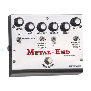 NEW BIYANG Metal End King Distortion Pedal *The Ultimate Distortion* for sale