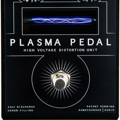 Gamechanger Audio Plasma High Voltage Distortion Pedal  In Stock *Free Shipping*