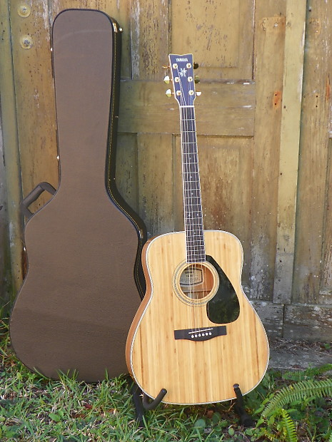 yamaha fg b1 fgb1 bamboo acoustic guitar guitar w case must reverb. Black Bedroom Furniture Sets. Home Design Ideas