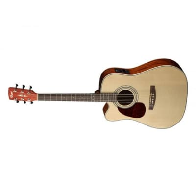 Cort MR500E OP Acoustic Guitar Left Hand Natural Open Pore w/ Pickup for sale