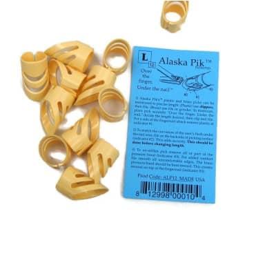 Alaska Pik Large Finger Picks 12 Pack