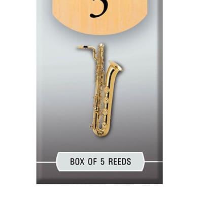 Rico Hemke Baritone Saxophone Reeds, Box of 5 3.5
