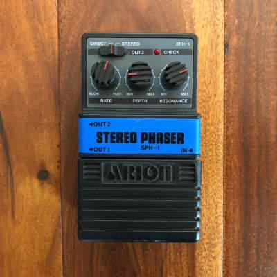 Arion SPH-1 Stereo Phaser 2000s Black for sale