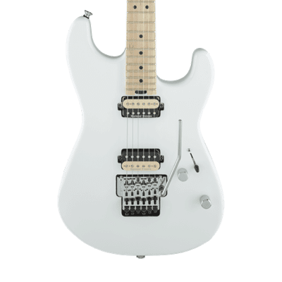 Charvel Pro Mod San Dimas Style 1 HH with Floyd Rose - Snow White - Demo for sale