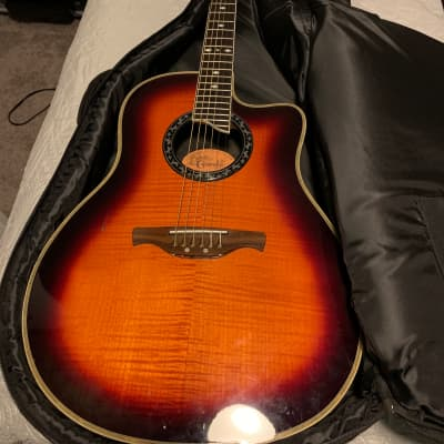 crafter acoustic electric  sunburst for sale