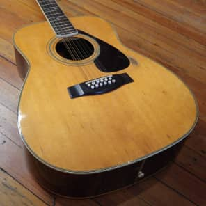 Yamaha FG-512 12-String Jumbo Dreadnought Natural