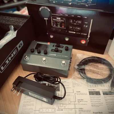 Line 6 HX Stomp Multi-Effect and Amp Modeler Limited Edition Gray