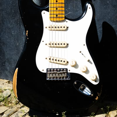 Fender '56 Stratocaster Relic  - Black for sale