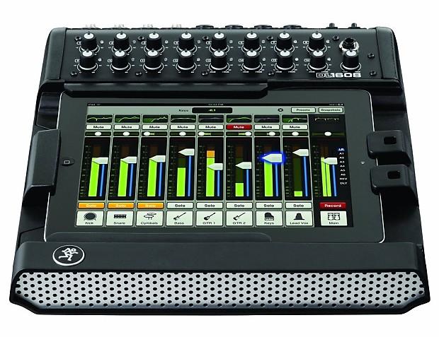 mackie dl1608 16 channel live sound digital mixer with pad reverb. Black Bedroom Furniture Sets. Home Design Ideas