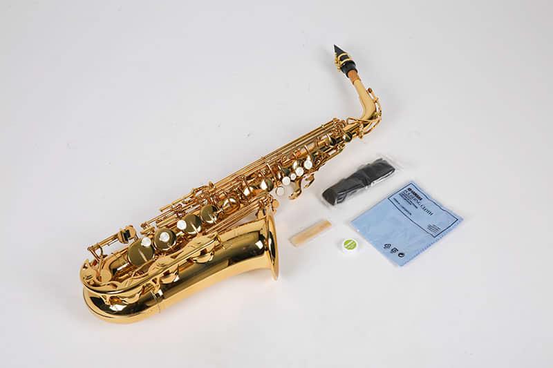 Yamaha alto yas 275 saxophone brass wind instrument reverb for Yamaha electronic wind instrument