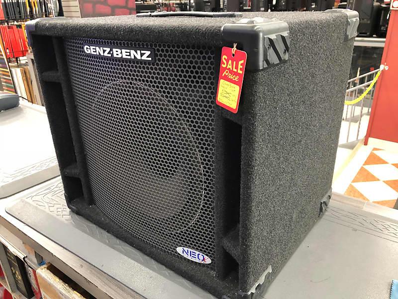 Genz Benz Neox 112t 300w 1x12 Bass Cabinet Ihomi
