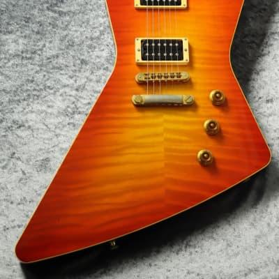 Hamer USA Standard Rick Nielsen Signature ~Cherry Sunburst~ Explorer 【USED】 for sale