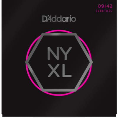 D`Addario NYXL0942 Super Light Electric Guitar Strings 9-42