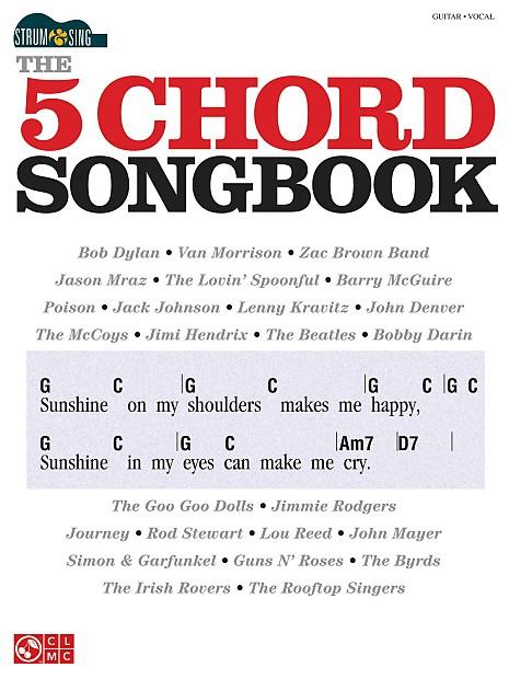 Hal Leonard Strum Sing The 5 Chord Songbook Reverb
