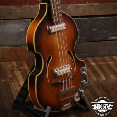 Klira Twen Star 4-String Bass Sunburst for sale