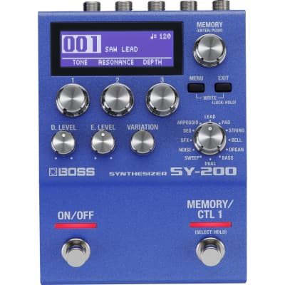 Boss SY-200 Guitar Synthesizer Pedal