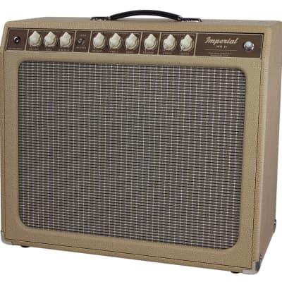 "Tone King Imperial MKII 20-Watt 1x12"" Guitar Combo, Cream"