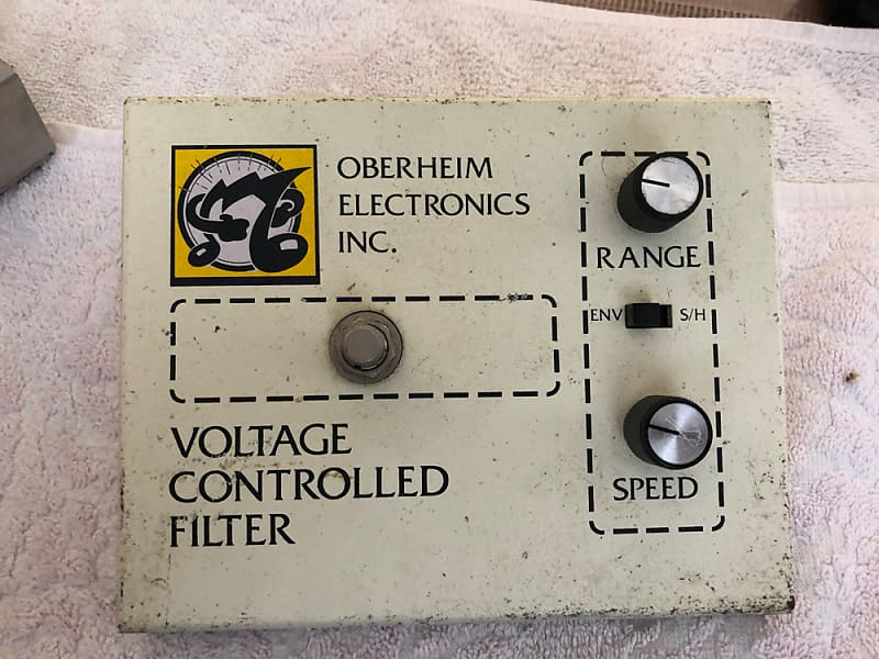 Vintage Oberheim VCF-200 Voltage Controlled Filter | Zappa pedal