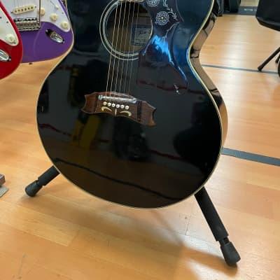 Suzuki kiso suzuki j200 chitarra acustica jumbo black for sale