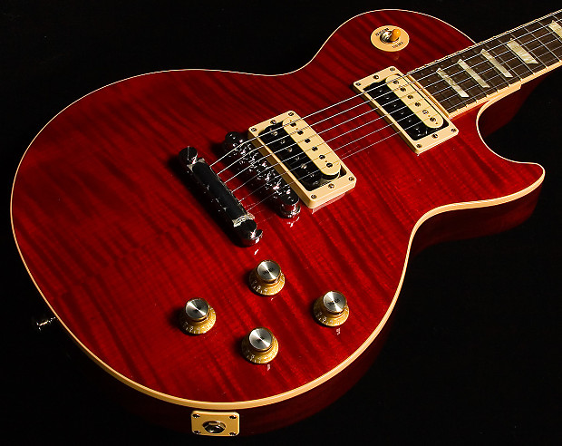 used gibson slash rosso corsa les paul electric guitar reverb. Black Bedroom Furniture Sets. Home Design Ideas