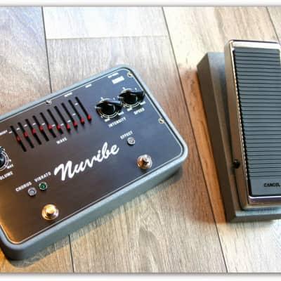 "Korg  ""Nuvibe Vibrato Chorus Effector""!!!!Jimi Hendrix Woodstock Gear!!!!"