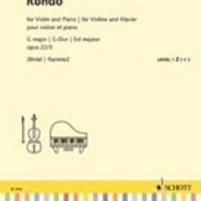 Rondo G Major, Op. 22 No 3: for Violin and Piano Schott Student Edition Repertoire