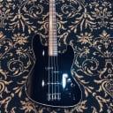 Fender MIJ Aerodyne Jazz Bass None More Black w/ Gigblade Gigbag