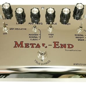 BIYANG METAL END  PRO Distortion Extremely versatile- numerous set options. Powerful Player favorite for sale