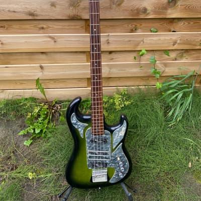 1964 Burns Shadows Bass Rare Green sunburst for sale