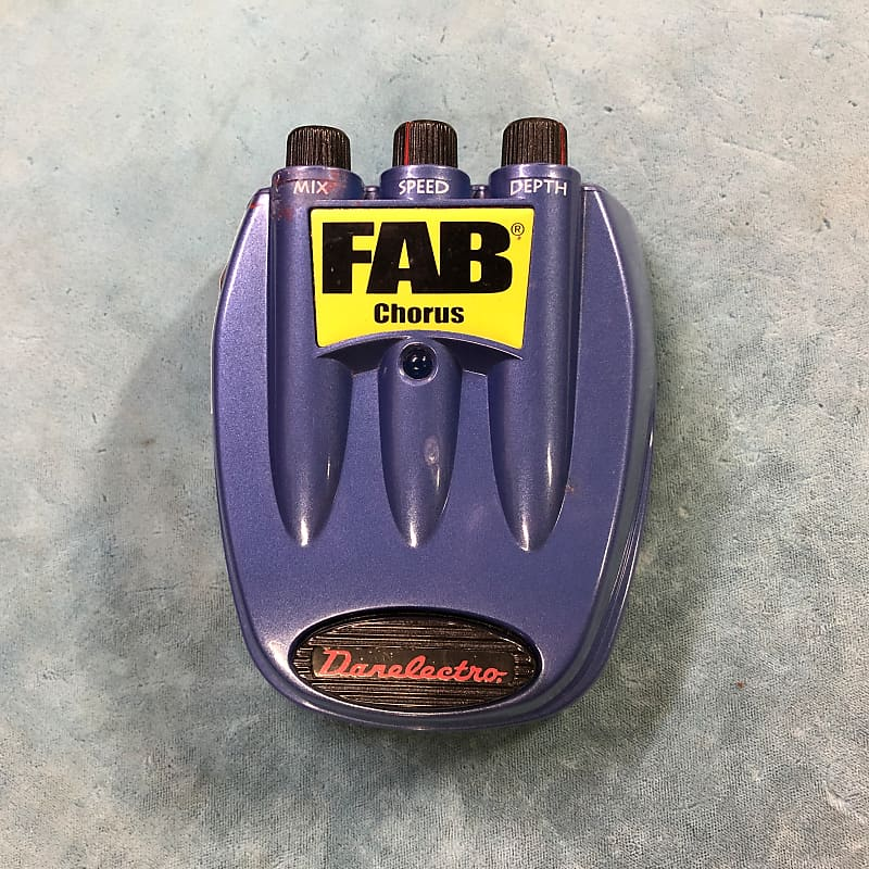 Danelectro FAB D-5 Chorus Effects Pedal