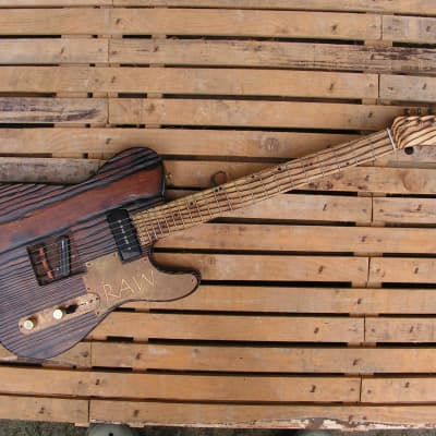 Blackbeard Guitars Telecaster RAW Flamethrower Relic Roasted Chopper T 2013 for sale