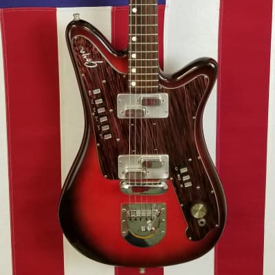 1960s Goya Rangemaster - Crazy Cool Guitar - All Working  Electronics for sale