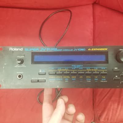 Roland JV-1010 64 voice MIDI synthesizer-used module for sale | Reverb