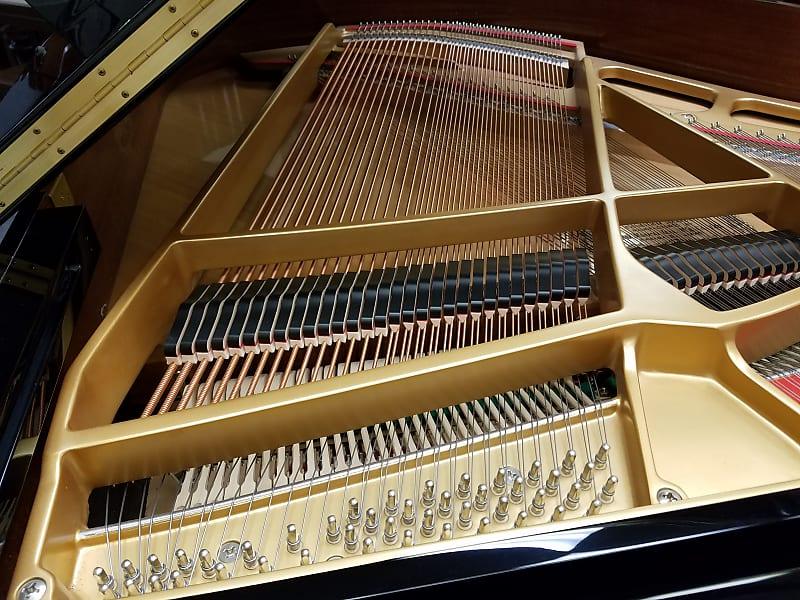 Kawai GM10K 5' Ebony Polish GM-10 Baby Grand Piano Mfg 2008 in Indonesia  *Clean*