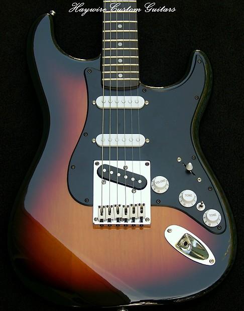 Fender Stratocaster Plus Sunburst Bodytele Bridgetele Reverb