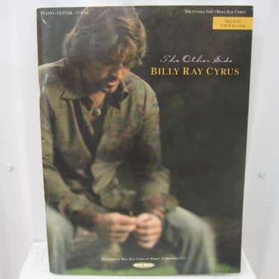Billy Ray Cyrus The Other Side Piano Vocal Guitar Sheet Music Song Book Songbook