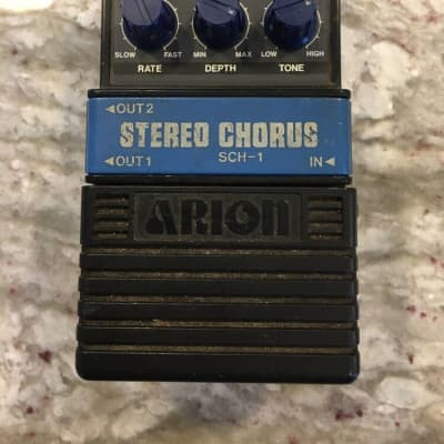 Arion SCH-1 Stereo Analog Chorus Rare Vintage Guitar Effect Pedal MIJ Japan for sale
