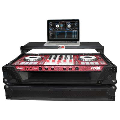 ProX XS-DDJSX-WLTBL LED Case for Pioneer DDJSX2/3, DDJRX, and Denon MC7000