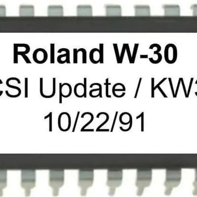 Roland KW-30 - SCSI expansion Kit for Roland W-30 - NEW