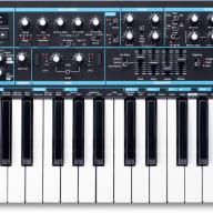 Novation BASS STATION II Bass Station II 25 Note Analogue Mono Synthesizer w/ 2 Tuneable Oscillators