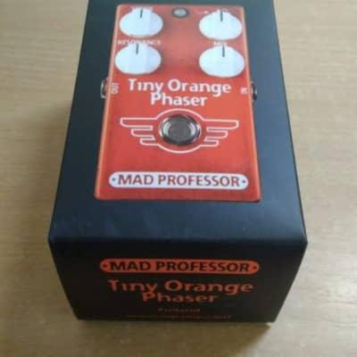 Mad Professor Tiny Orange Phaser w/ Original box & paperwork for sale