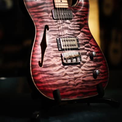 Patrick James Eggle Oz T Carve Top - Quilted Maple for sale