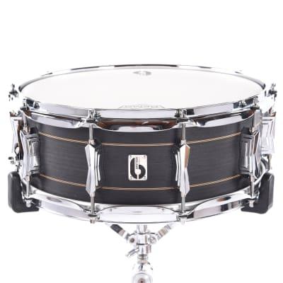 """British Drum Company Merlin 14x5.5"""" 10-Lug Maple / Birch Snare Drum"""