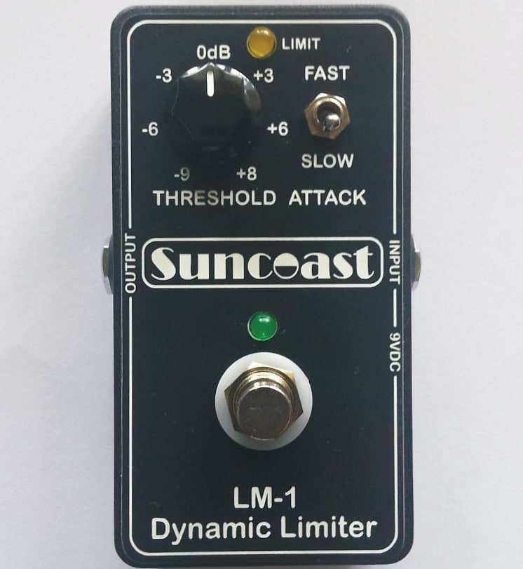 Suncoast LM-1 Dynamic Limiter for Bass or Guitar *NEW Product* Designed with Billy Sheehan