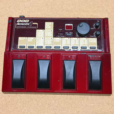DOD Acoustic 1 Guitar Multi-effects Pedal 1996 for sale