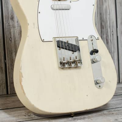 Fender Custom Shop 1967 Telecaster - White Blonde, Journeyman Relic for sale