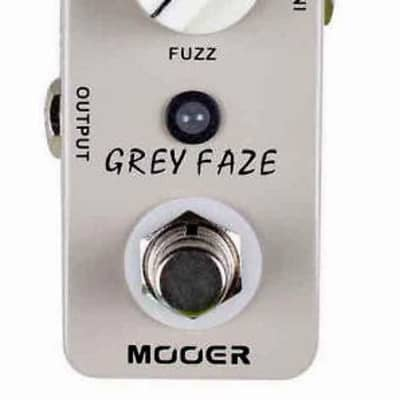 Mooer Grey Faze MICRO Fuzz Pedal True Bypass NEW IN BOX Free Shipping for sale