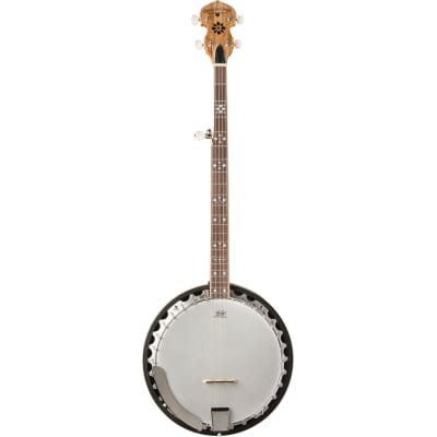Oscar Schmidt OB5SP 5-String Resonator Banjo, Spalted Maple for sale